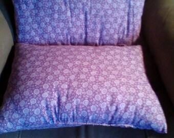 Purple pillow set