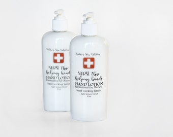 Nurse's hand lotion | Hand lotion for Nurses | Extra Rich hand lotion | lightly scented hand lotion | Vegan Lotion | Organic Lotion | Lotion