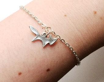 Fox charm bracelet