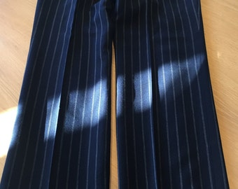 Men's vintage Pinstripe trousers (UK S)