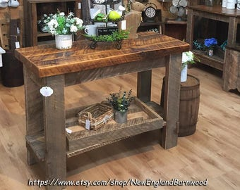 Farmhouse Kitchen Island, LOCALPICKUPONLY, Rustic Kitchen Island,Rustic  Home Decor,Kitchen Island