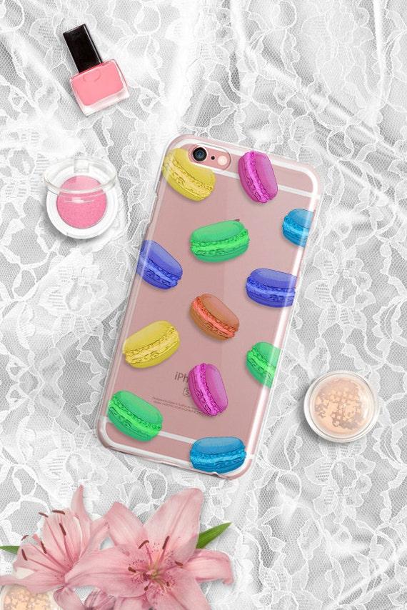 iPhone 7 Case Clear iPhone 7 Plus Case Clear macaron iPhone 6S Case iPhone 6 Case Clear Samsung Galaxy S7 Case Clear iPhone SE Case Clear