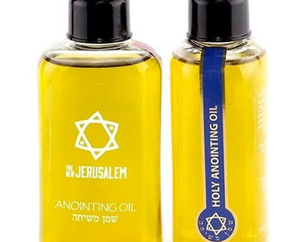 Anointing Oil Holy anointing Fragrance 100ml From Holyland Jerusalem  (1 bottles)