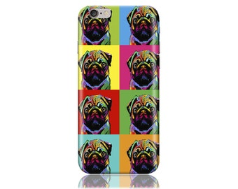 For Samsung Galaxy S7 Case #Rainbow of Pugs Design Hard Phone Case