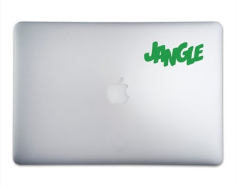 JANGLE Sticker for MacBooks and Apple Devices