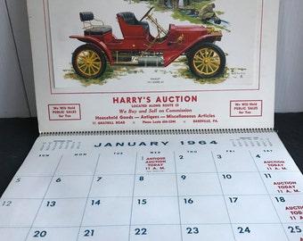 1964 Calendar, Vintage Calendar