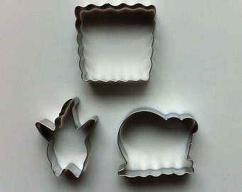 SpongeBob Cookie Cutter Patrick Star Cookie Cutter/Snail Cookie Cutter/Cartoon Cookie Cutter/Metal Cookie Cutters/Baking Supply/Theme Party