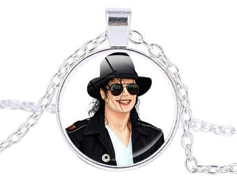Michael Jackson Pendant  Necklace