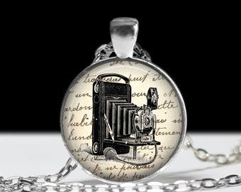 Camera Necklace J Larson's Original Camera Jewelry Gift for Photographer