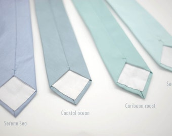 Coastal spa,dusty turquiose, pale aqua, beach wedding,surf,blue green grey groom,groomsmen,men,dusty aqua turquoise teal pantone wedding tie