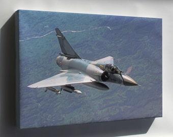 Canvas 24x36; Dassault Mirage 2000