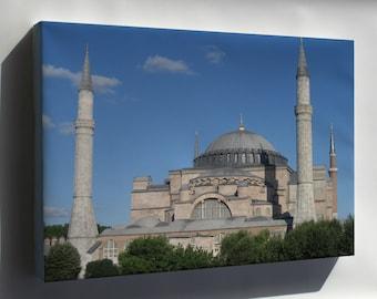 Canvas 16x24; Hagia Sophia In Istanbul P1