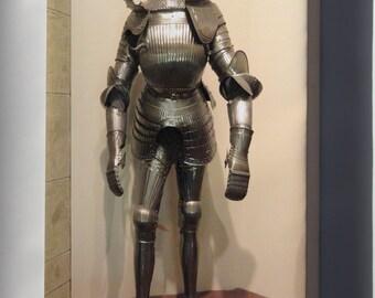 Canvas 16x24; German Knight Maximilian Field Armor, Circa 1525-1530