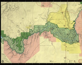 16x24 Poster; Grand Canyon  1984
