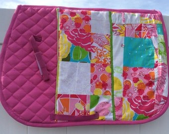"""The """"Lily"""" saddle pad"""