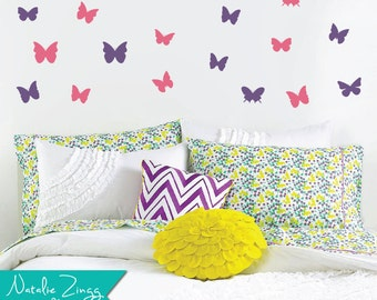 Butterfly Wall Decor, Any Color, Butterfly Decals, Fast Shipping