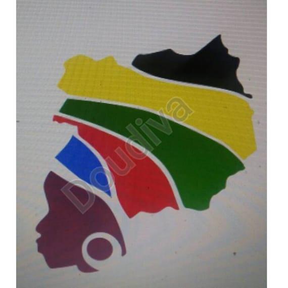 Download African Rasta lady SVG File SVG File For Cricut Ethnic Svg