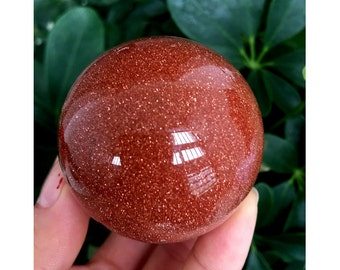 Brown Goldstone Sphere, Goldstone Stone Sphere, Brown Sandstone, Brown Goldstone Ball, Brown Stone Ball,  Brown Stone Sphere#572