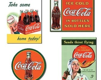 "Tin Sign "" Coca Cola Coke "" #S1050 #S1047 #S1069 #S1045"