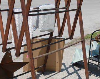 Vintage Oversized Drying Rack