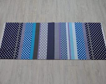 dots cotton fabric 1/2 yard