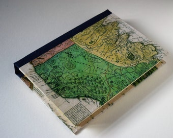 Iceland Travel Journal, Travel Journal with Pockets