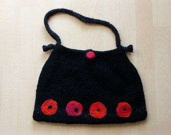 Felted bag / knitted - will be delivered postage free