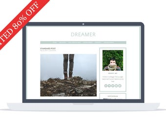 80% OFF - Dreamer - Wordpress Theme - Google Fonts - Self Hosted - Wordpress Blog Theme - Responsive