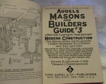 Audels Masons and Builders Guide 3 1948