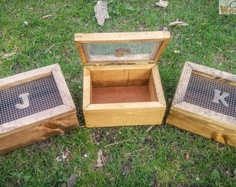 Decorative Wooden Storage Box