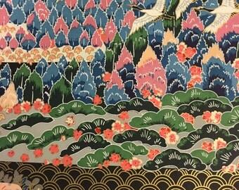 Japanese Sogara Yuzen Kacho-Fugetsu No. 13