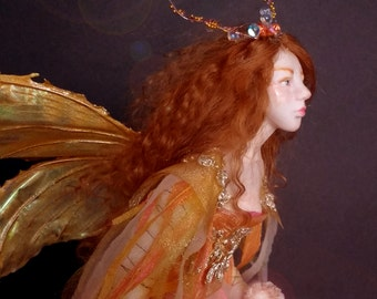 Fairy ooak polymer clay