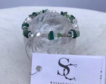 Sea Pearl. Pearl bracelet.