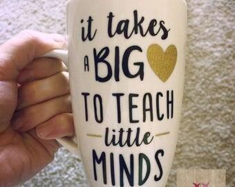 It Takes A Big Heart Coffee Mug