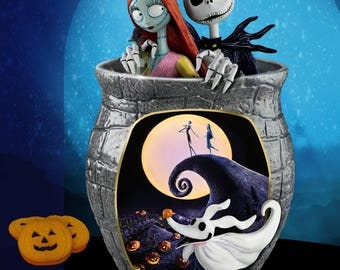 The Nightmare Before Christmas Cookie Jar - Bradford Exchange / Disney