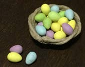 Basket of Easter eggs for...