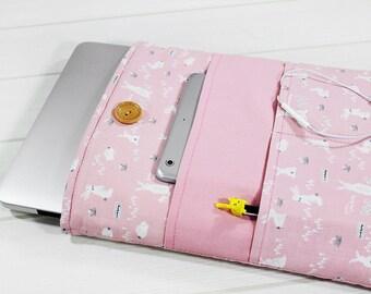15 inch laptop case, Macbook case, Macbook sleeve, laptop sleeve, Macbook Pro case, Retina sleeve 15, Lenovo Flex 15 case, gift for her