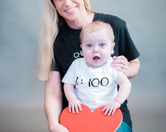 Sponsor a 1:100 T-shirt/Onesie for a CHD Kiddo!