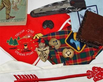 SCOUT UNIFORMS KERCHIEFS Vintage Scouting Collectibles