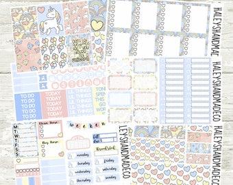 Fairytale Magic Big Sticker Kit(for Erin Condren Life Planner)