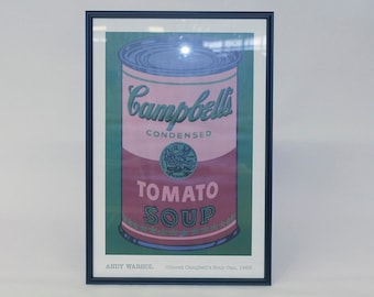 Campbells Soup Art Poster - Andy Warhol