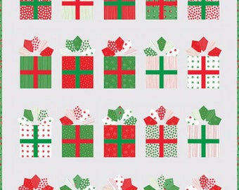 Gift Wrap - Christmas/Holiday Quilt Pattern, New for 2017 - by Me and My Sisters Designs