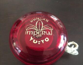 Duncan Imperial Yo-Yo Ruby Red