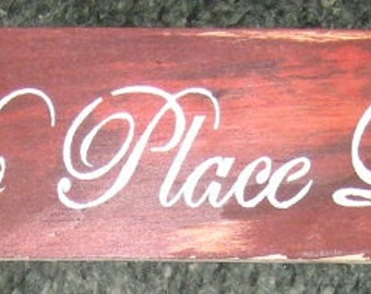 There's no place like home.....Primitive/ decor /saying/ handmade / gift/ kitchen/family/fall/halloween/thanksgiving/christmas/board/