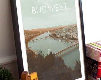 Budapest, Hungary Poster 11x17 18x24 24x36