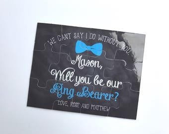 Ring Bearer Proposal Puzzle  | Will you be my Bridal Party 016