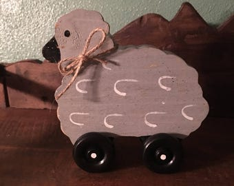 Susie Sheep Push Toy