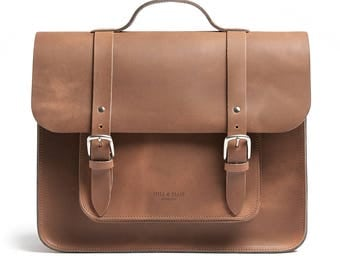 Tan Brown Satchel Bike bag