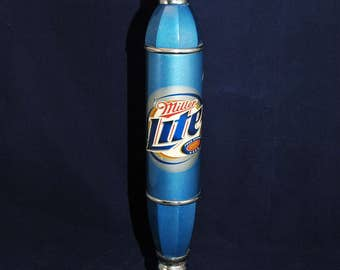 Miller Lite Beer Tap Handle 12 Inch Tall Used Condition      01357
