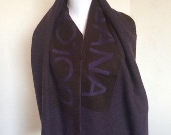 Dolce & Gabbana, wool scarf